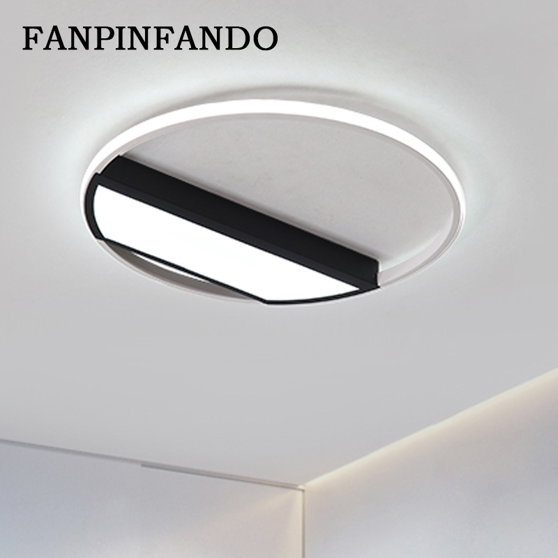 Modern Flush Mount Ceiling Light Ultra Thin Led Lighting Remote Control Lamp For Living Room Bedroom Kids In Lights From
