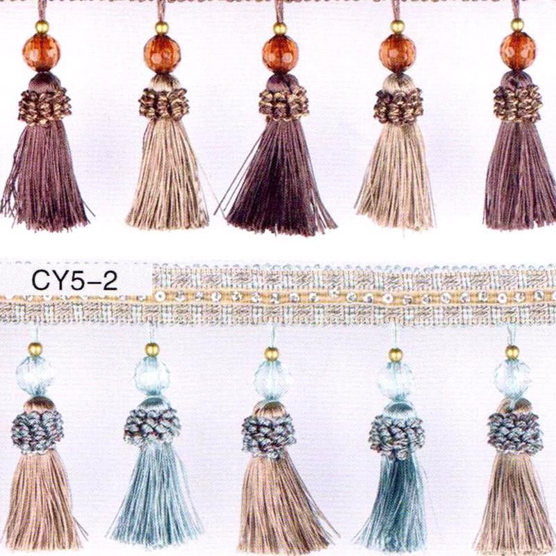 elegent fashion small Bead Rim for patchwork Drapes Fringe Tassels For Sew Lace Material for Beads Frame Bed Cover edge Flowers