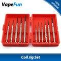 Cigarrillos electrónicos Originales GeekVape Plantilla Bobina Kit E-cigs RDT RDTA Atomizador RBA Coil DIY Conjunto de Herramientas Destornillador de Precisión conjunto