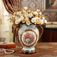 The new technology of ceramic crafts gorgeous flower vase Home Furnishing European wedding gifts