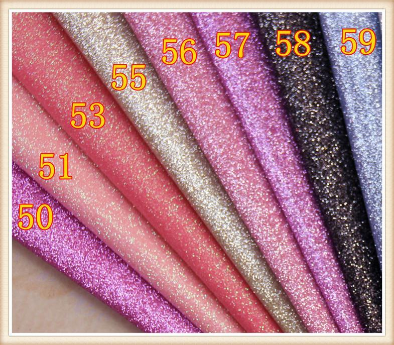 50yards/lot Glitter Vinyl Fabric/ Furniture Material