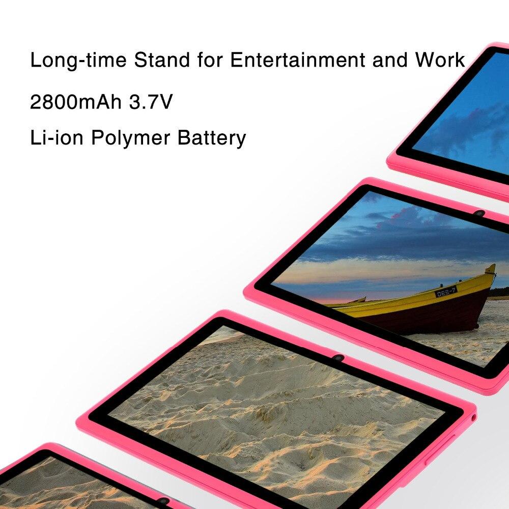 Nuevo 7 pulgadas diseño Original Android 8,0 Quad Core 1G + 8G Android Tablet pc WiFi Bluetooth GPS IPS tabletas - 6