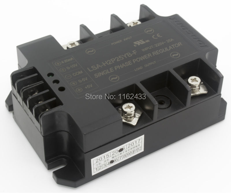 LSA H2P25YB F single phase AC 25A 220V closed loop negative feedback solid state voltage regulator