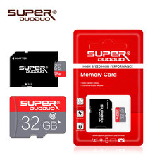 Carte mémoire classe 10 8 GB 16 GB 32 GB carte micro sd 64 GB 128 GB tarjeta microsd 32 gb mini carte TF lecteur flash 4 GB avec adaptateur gratuit