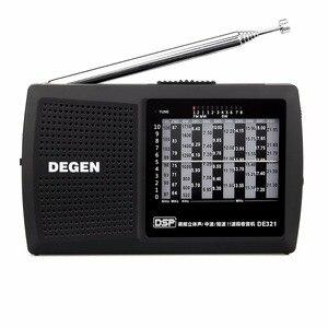 DEGEN DE321 Mini Radio FM Ster