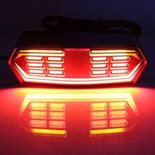 Для Honda гром MSX125 CTX700N CTX700 CBR650F мотоциклетные стоп ходовые огни Скутер задние лампы светодио дный поворотник мигалки
