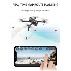 Image 3 - SJRC F11 PRO GPS Drone z kamerą 2KHD Wi Fi FPV, vs SG906, składany dron, bezszczotkowym quadkopterem F11 1080P, czas lotu 25 minut