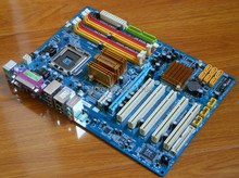 Free shipping for Gigabyte P43-ES3G p43 motherboard DDR2 775 perfect double nuclear power plant nuclear