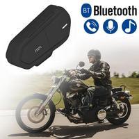 Wireless Bluetooth 4.2 Earphone Motorcycle Helmet Headsets Stereo Motorcycle Earphone Waterproof FM Radio