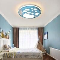 Led シーリングライト現代のアクリル天井ランプ 85-265V 40 ワット家庭の照明子供の寝室廊下器具
