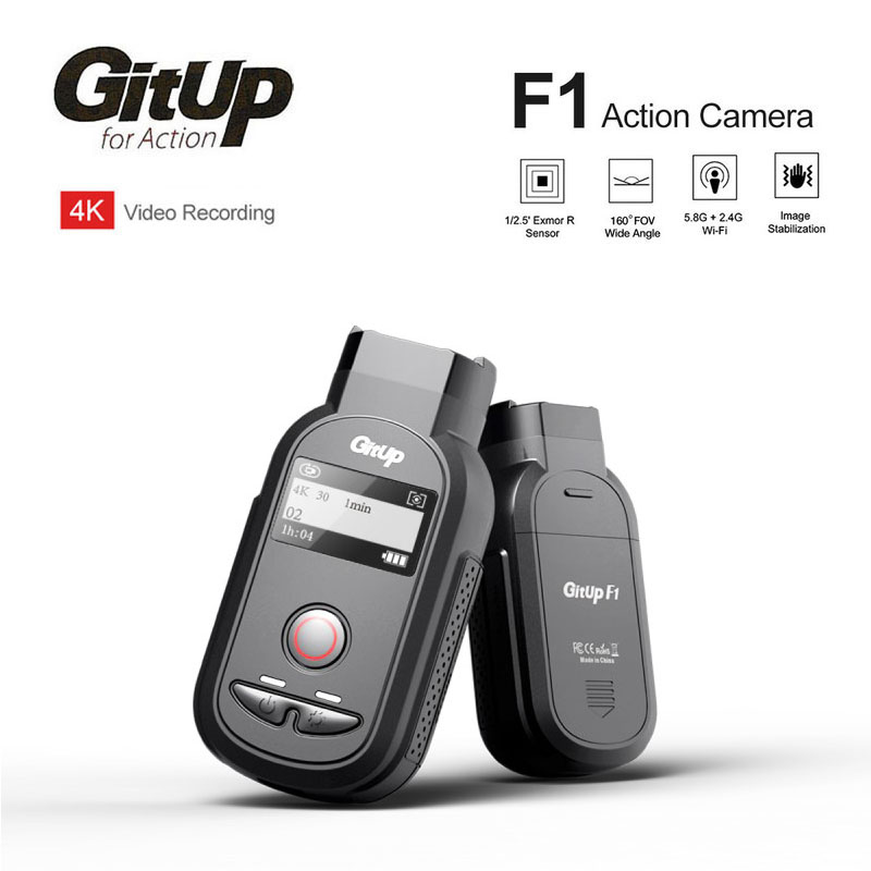 New GitUp F1 Ultra WiFi Real 4K WIFI Action Sports Camera 8MP Camcorder Video Recorder DVR