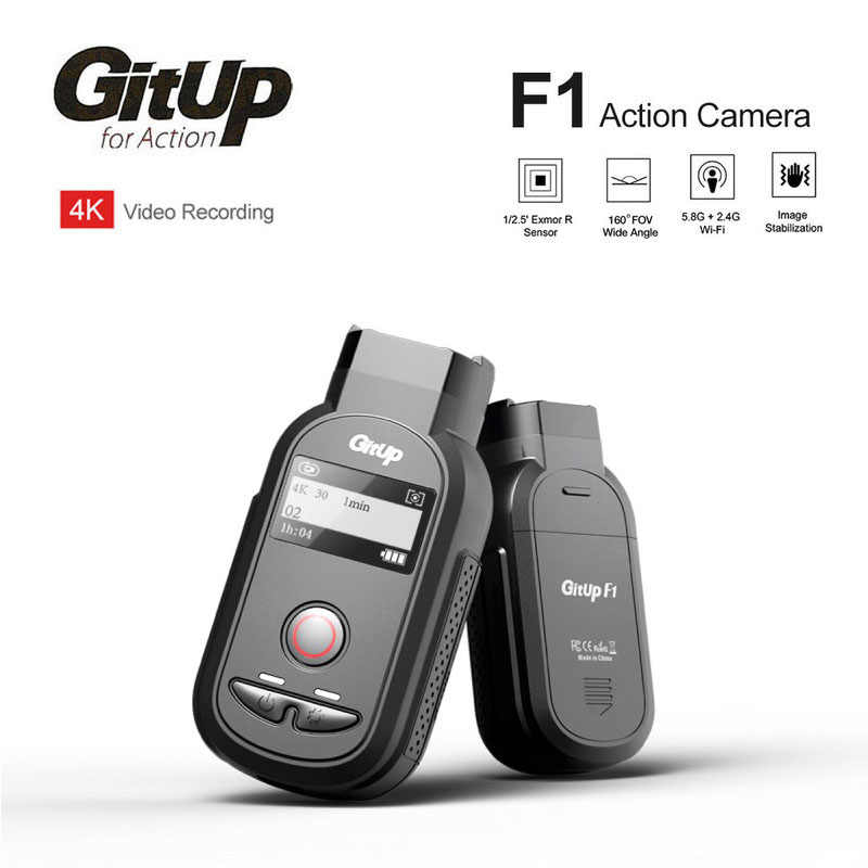 Новая спортивная Экшн-камера GitUp F1 Ultra wifi Real 4K wifi 8MP видеокамера DVR для езды на велосипеде