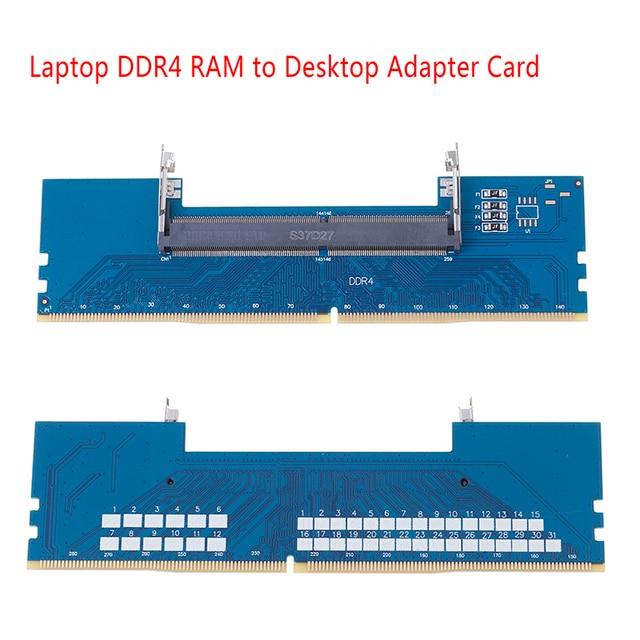 Laptop DDR4 RAM để Máy Tính Để Bàn Adapter Thẻ Nhớ Máy NÊN DIMM để DDR4 Bộ Chuyển Đổi