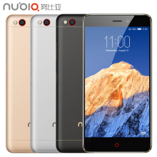 Original ZTE Nubia N1 4G LTE Cell Phone RAM 3GB ROM 64GB MTK6755 Octa Core 5.5 inch Camera 13.0MP 5000mAh Fingerprint Smartphone