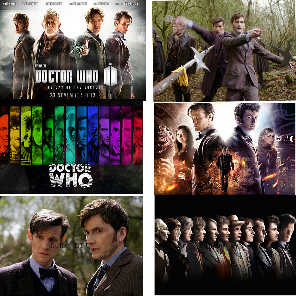 the day of the doctor poster clear image wall stickers