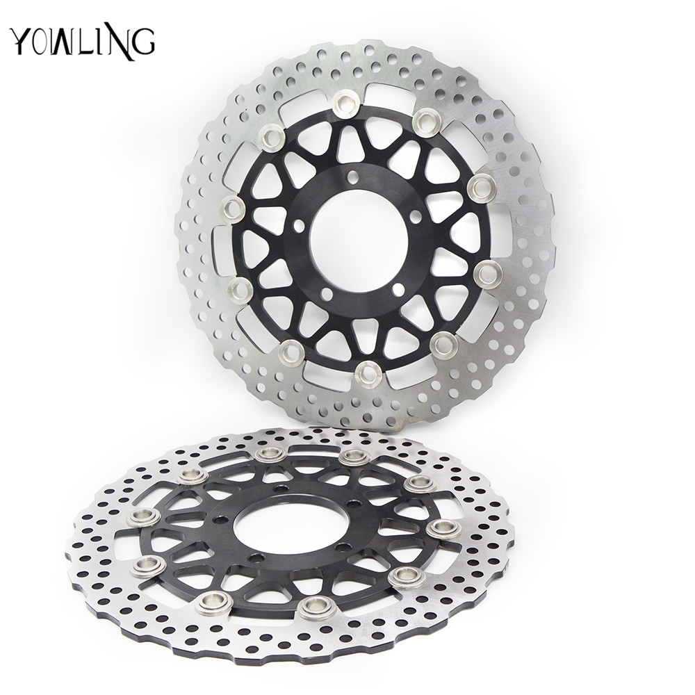 motorcycle accessories Front Brake Disc Rotor For KAWASAKI ZG 1400 Concours 14 ABS A8F-A9F,CAF,CBF ZG1400 2008 2009 2010 2011 motorcycle accessories qianjiang qj150 19a 19c brake disc
