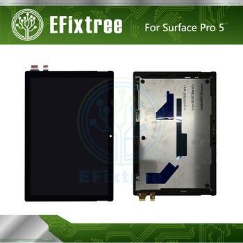 Новый 1796 ЖК сенсорный экран дигитайзер панель в сборе для microsoft  Surface Pro 5 ЖК-дисплей LP123WQ1 (SP) (A2) с наклейкой