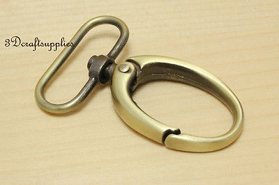Lobster Clasps Clips Claw purse hooks Swivel snap hook anti bronze 38mm 6pcs G11 2 pcs steel lobster claw carabiner swivel clasp 6 48cm 304 stainless steel carabiner lobster claw swivel key ring chain split rings jeans slacks khakis cargo capri pants trousers denim belt loops keys hook link clip snap with auto close spring gate ss