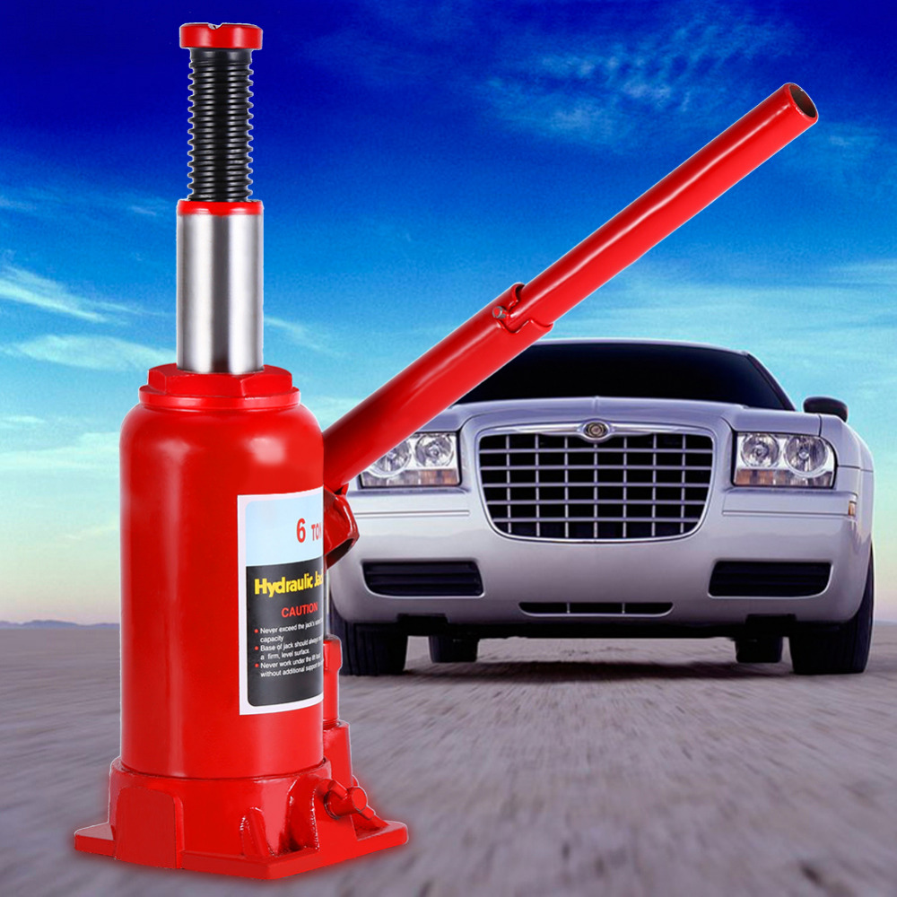 Design of bottle car jack - 6t Heavy Duty Vertical Hydraulic Jack Automotive Lifter Vehicle Repair Tool Durable China Mainland