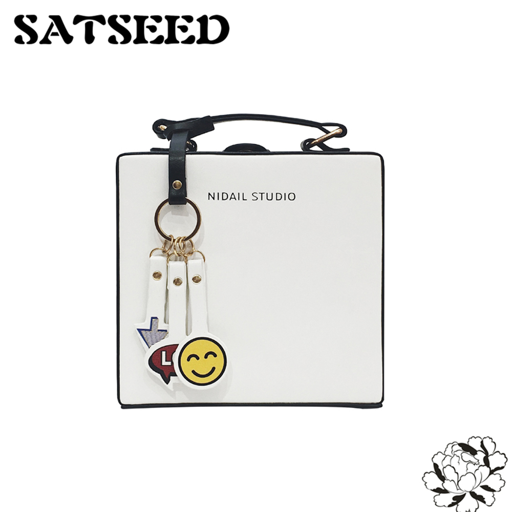 Cartoon Candy Color Handbags Fashion Square Summer Flap Panelled Leisure Women Bags high q cartoon rick and morty 2017 new arrival backpack students couple printing candy color leisure bags