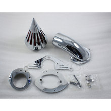 цена на Motorcycle Part NEW Spike Air Cleaner Filter Kit For Yamaha Road Star 1600/1700 Chrome