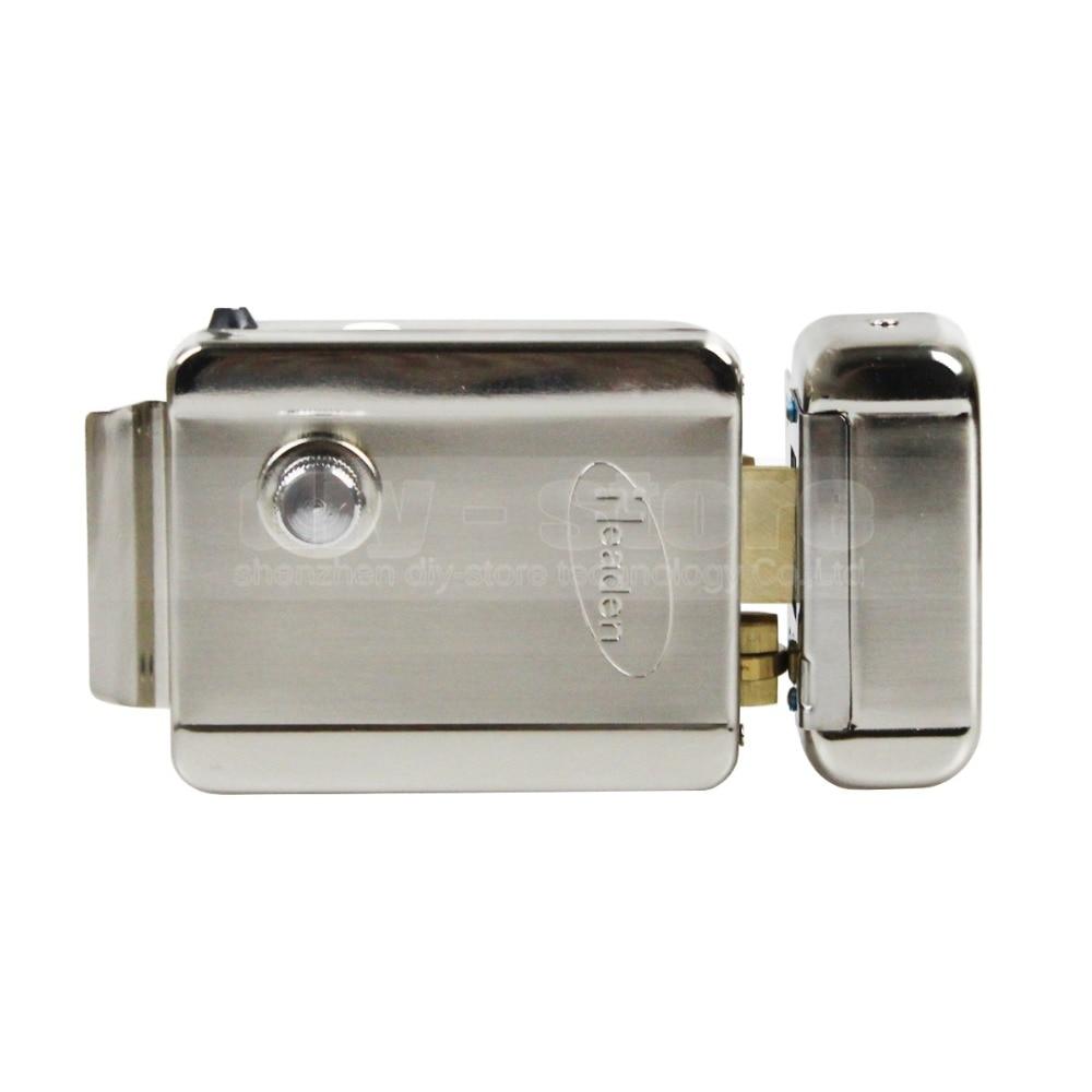 DIYSECUR Electronic Lock Security System For Access Control System Veideo Door Phone Doorbell Intercom