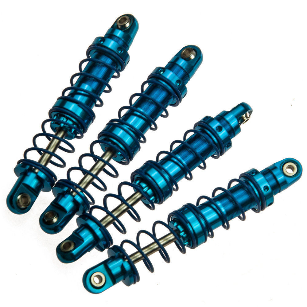 Blue 70mm 80mm 90mm 100mm 110mm 120mm Alloy Aluminum Shock Absorber Damper for RC Car 1/10 Truck Parts D90 Axial SCX10 hsp 108004 aluminum alloy shock absorber for 1 10 r c car black blue 2 pcs