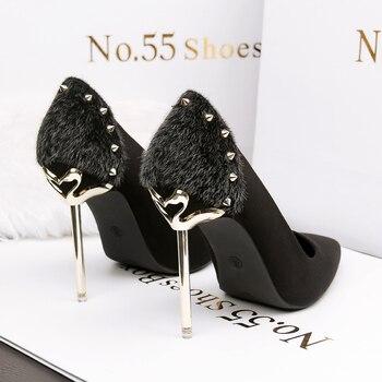 83289af8d9f 10 cm para de mujer alto fetiche zapatos de tacón zapatos 2018 PxqYpp