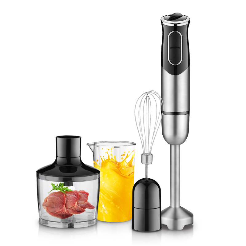 GERMAN Motor Technology Electric Hand Blender Mixer Smart Stick With Chopping Whip Beat Stir Mix Food Processors For Kitchen