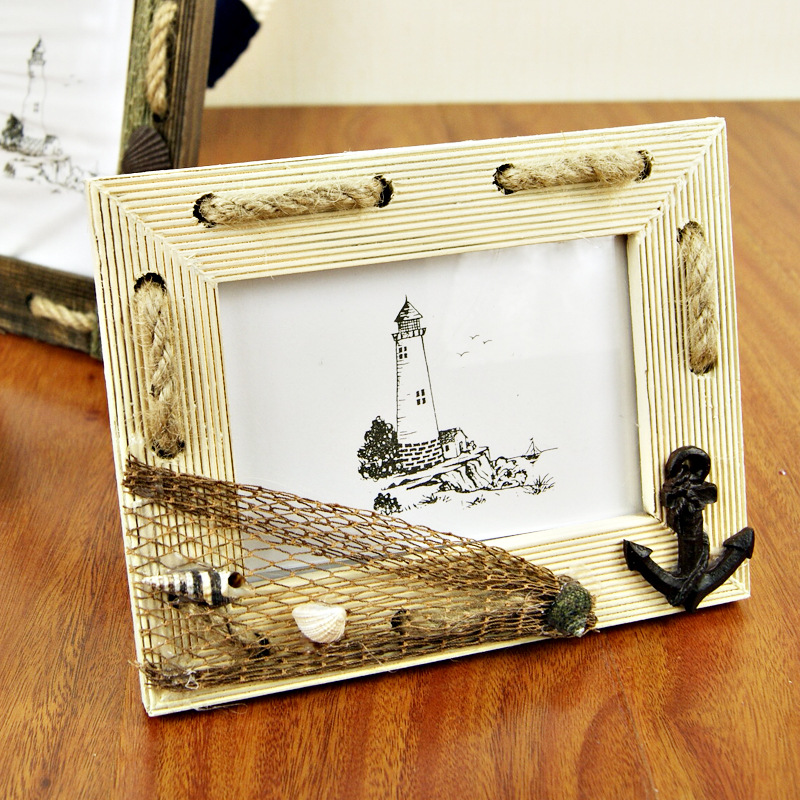 Online Shop J On A Small Frame Zakka To Do The Old Rope Home