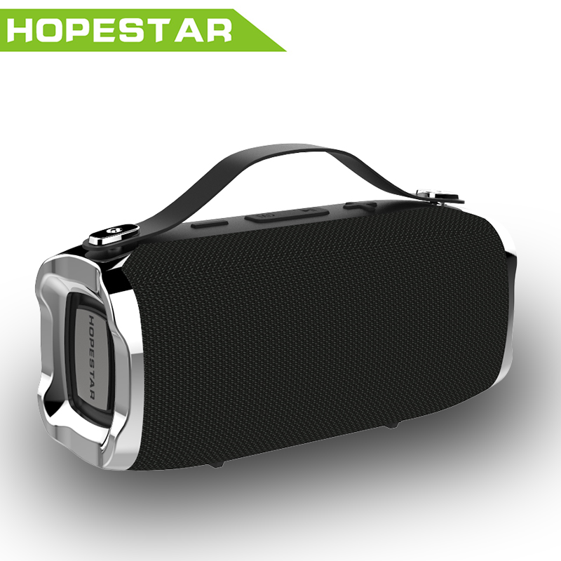 лучшая цена HOPESTAR H36 Mini Bluetooth Speaker Outdoor Portable Waterproof Wireless small Loudspeaker HIFI Bass Sound 3D Stereo Music TF