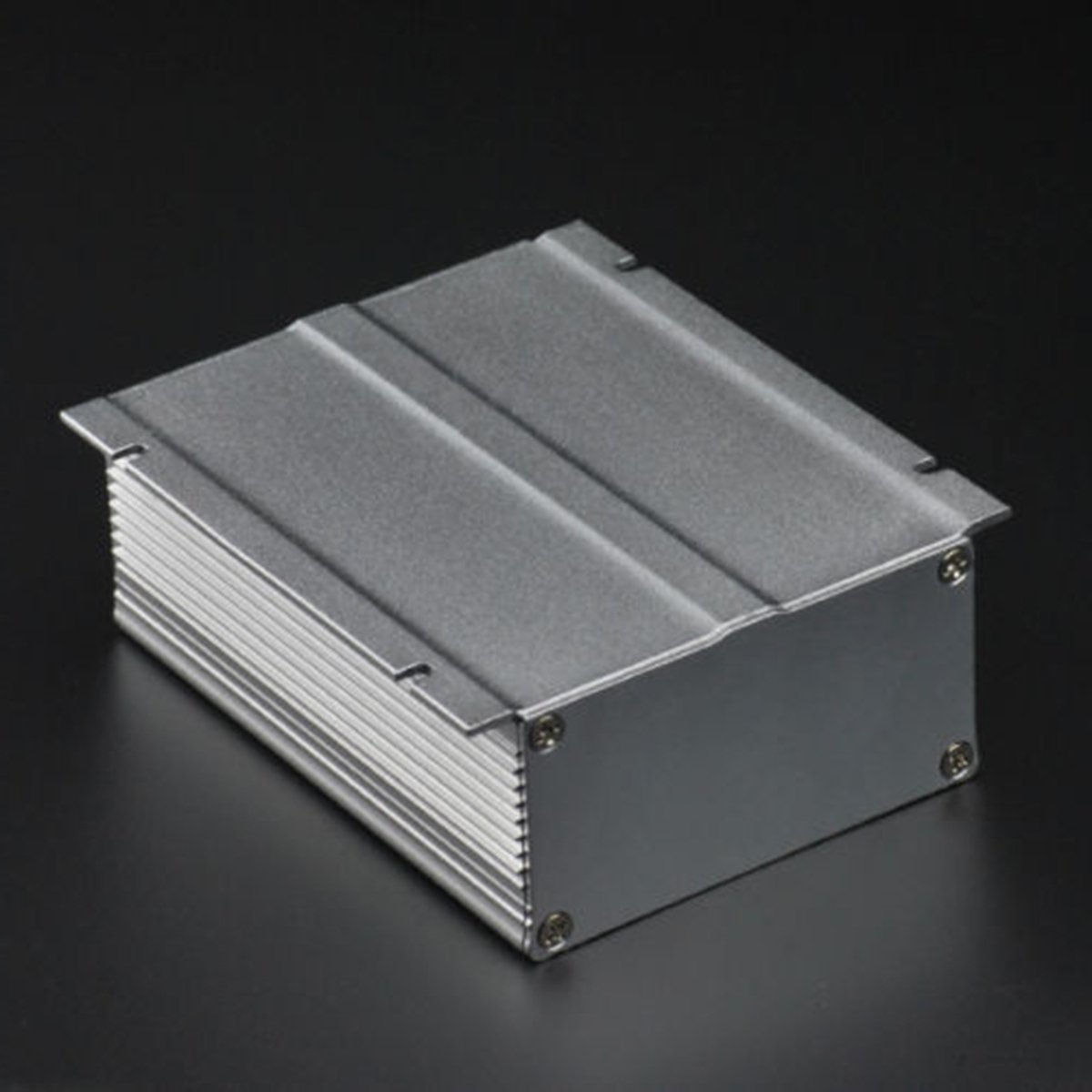 1pc Extruded Aluminum Electronic Power Enclosure Box PCB Instrument Case 88x39x100mm For Holding Circuit Board 1 piece free shipping aluminum amplifier case extruded aluminum box projects 96x33x140 mm aluminium profile