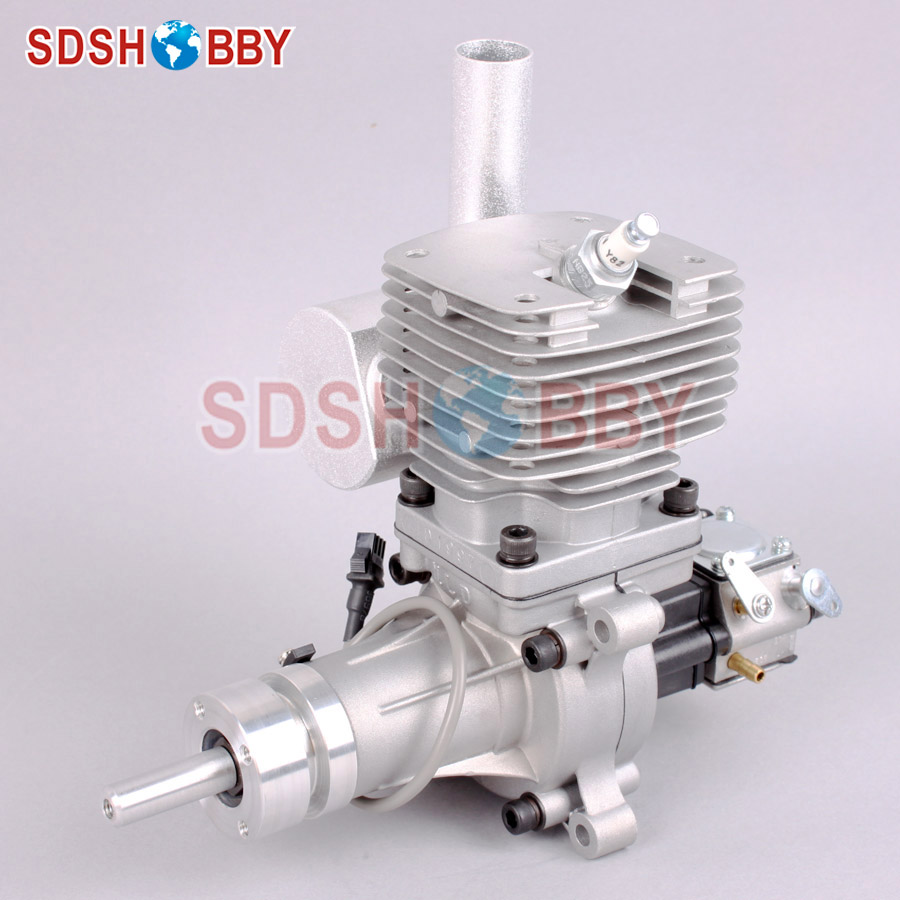 MLD35 35cc Gasoline Engine/Petrol Engine for RC Gas Airplane with Walbro Carburetor dla232 cnc processed gasoline engine petrol engine 232cc for gas airplane with four cylinders