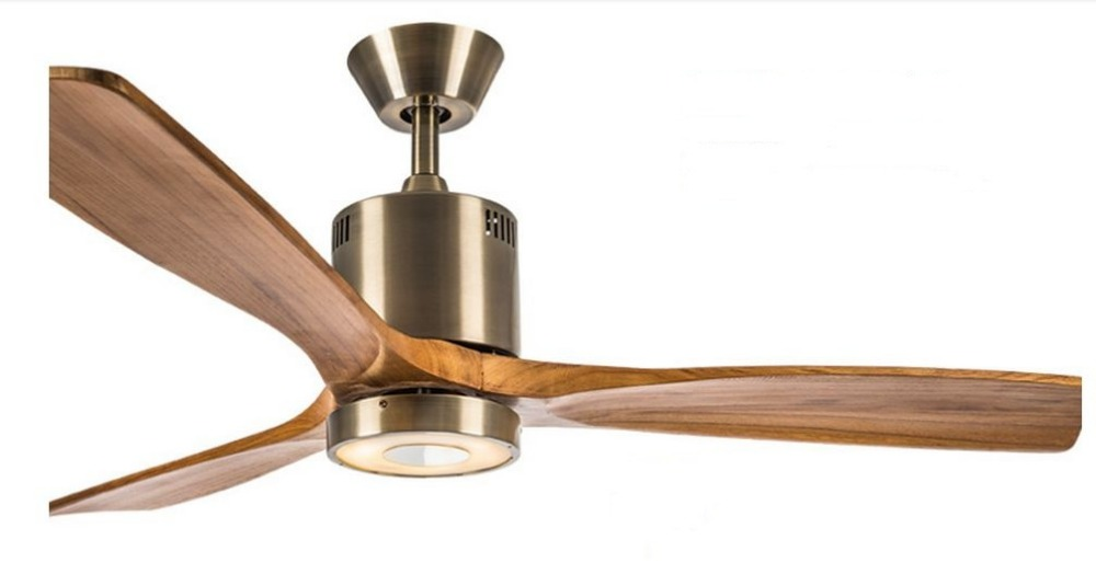 52inch With Remote Control Antique Ceiling Fan Light