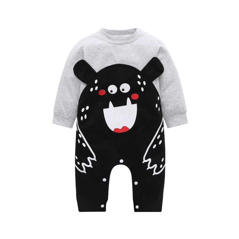 Одежда для новорожденных; хлопок; длинный рукав; сезон весна-осень; детские комбинезоны; мягкая одежда для младенцев; Комбинезоны для маленьких мальчиков и девочек