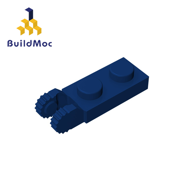 BuildMOC 44302 1x2 For Building Blocks Parts DIY LOGO Educational Tech Parts Toys