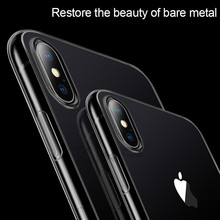 ZNP Ultra Thin Soft transparent TPU Case For Apple iPhone