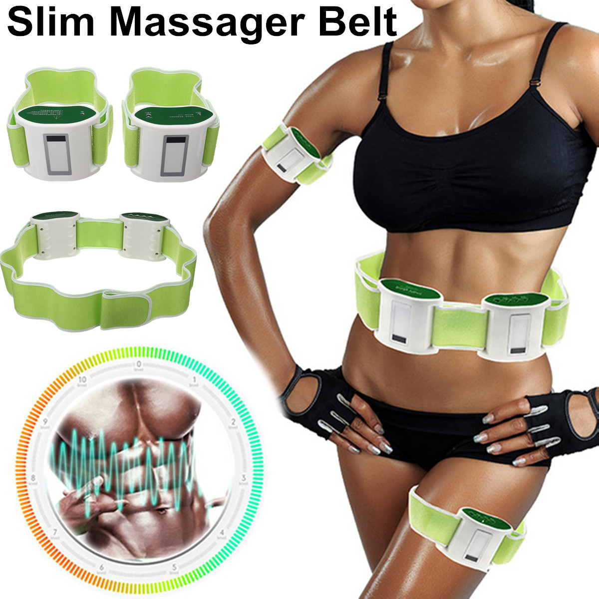 Thin Waist Massager Slimming Belt Body Electric Vibrating Sculpting Fat Burning ABS Fitness Detoxification Adjustment Compact 2015 redutores de medidas tv with the genuine chen tan teacher relief oil thin body fat doctor lotus leaf tea seven waist soup