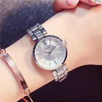 KIMIO Ultra Thin Dial Women Bracelet Watch Female Dress Quartz Wristwatch Lady Roman Numeral Watches Clock