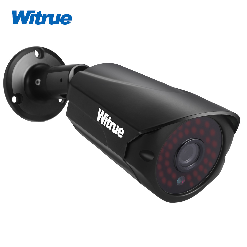 Witrue 1080P AHD Camera Sony IMX323 Surveillance Camera Metal Case Outdoor Waterproof Security Camera Infrared CCTV Camera wistino cctv camera metal housing outdoor use waterproof bullet casing for ip camera hot sale white color cover case