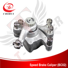 Wholesale Electric/Gas Scooter Brakes SPEED Brake Caliper with Round Brake Pads +Free Shipping