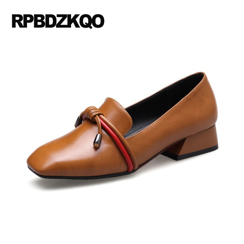 Brown Slip Resistant Shoes Womens