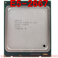 인텔 제온 cpu E5 2667 sr0kp 2.90 ghz 6 코어 15 m lga2011 e5 2667 프로세서 무료 배송 빠른 배송