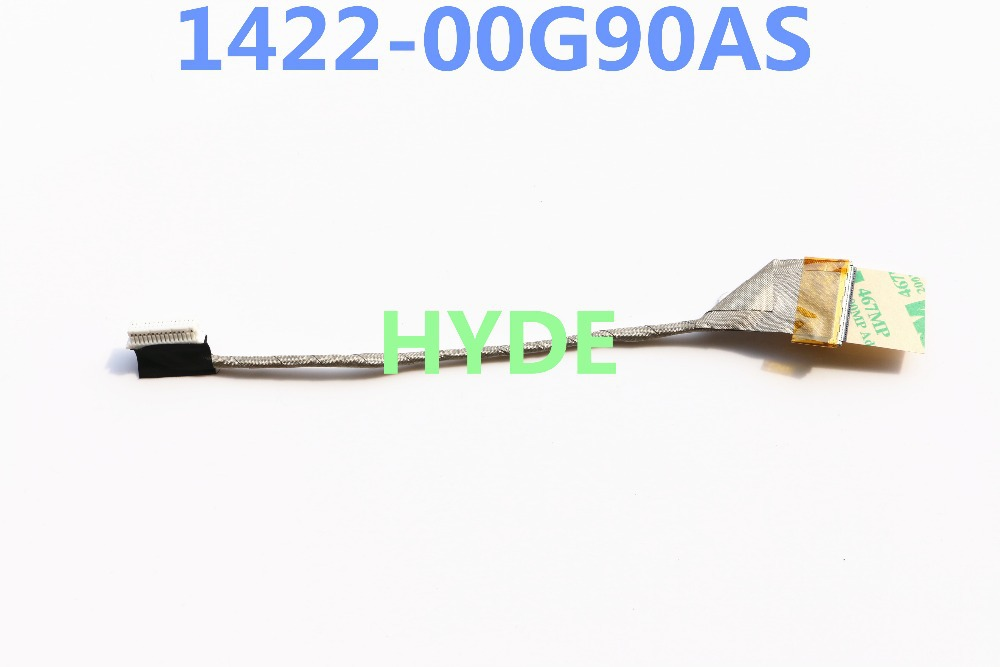 NEW JAS 1422-00G90AS LCD CABLE FOR ASUS K40 K40IN K40AB K50 K50IN K50AB X5DC X8 X8AC LCD LVDS CABLE