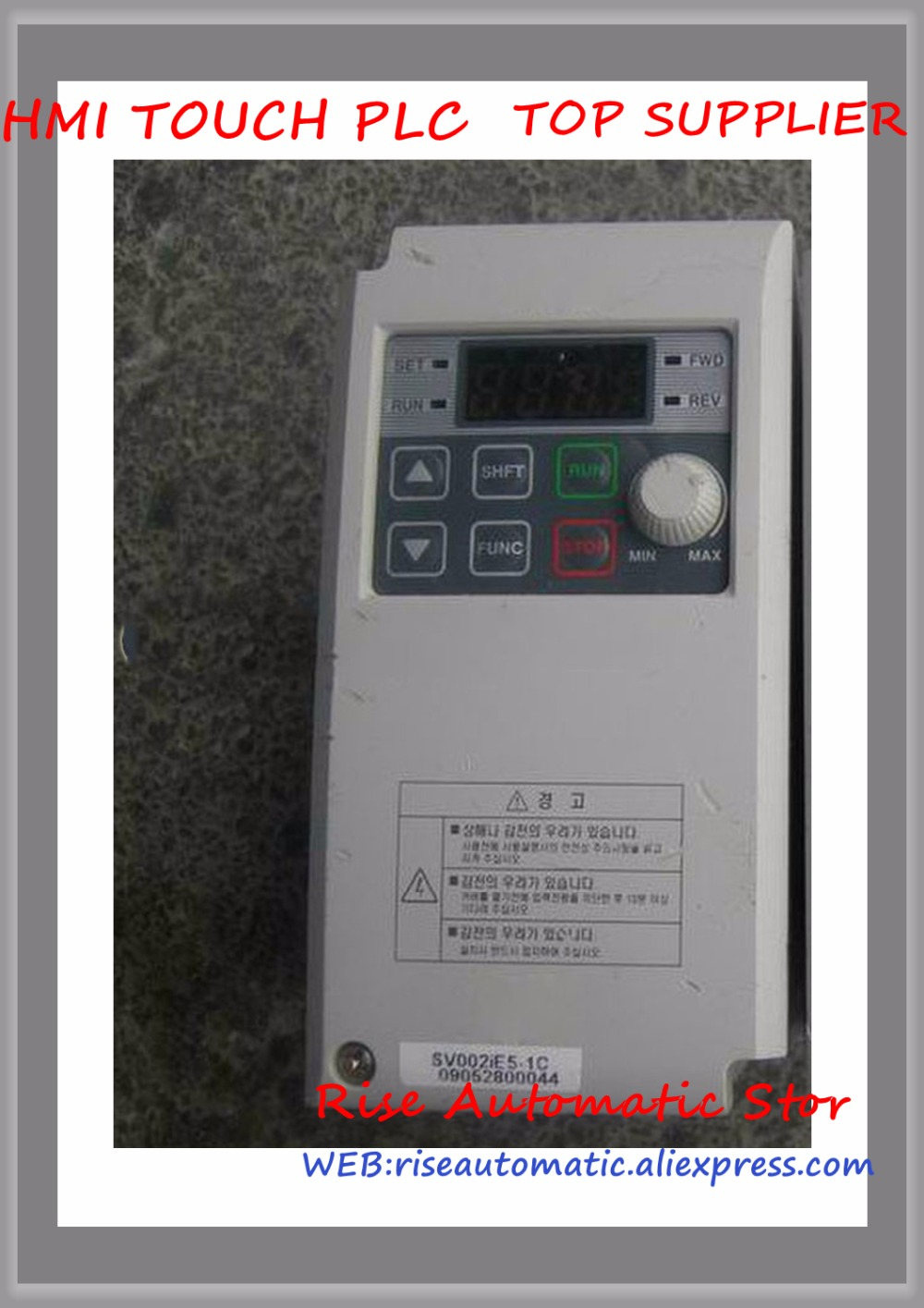 SV004iE5-1C new 0.4KW 3 phase 200V Inverter VFD frequency AC driveSV004iE5-1C new 0.4KW 3 phase 200V Inverter VFD frequency AC drive