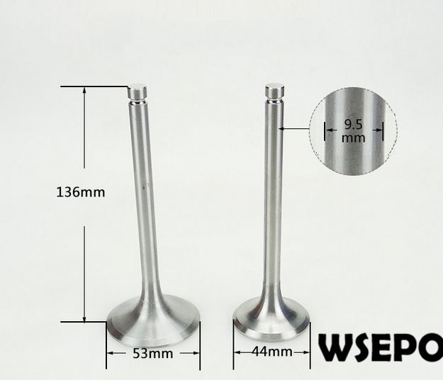 OEM Quality! Intake&Exhaust Valves Kit for L28/L32 4