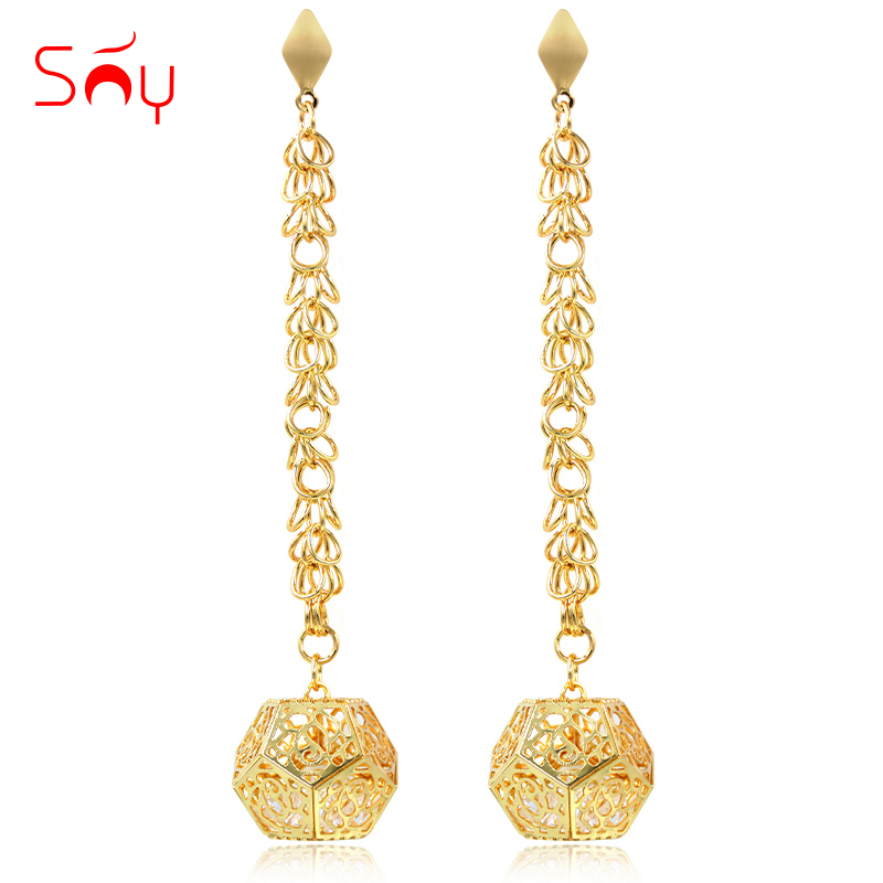 Sunny Jewelry Drop Dangle Earrings Fashion Jewelry 2019 For Women High Quality Zircon Hollow Geometric For Party Wedding DailySunny Jewelry Drop Dangle Earrings Fashion Jewelry 2019 For Women High Quality Zircon Hollow Geometric For Party Wedding Daily