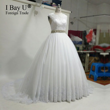Real Photo Light Ivory Puffy Evening Dress Prom Dresses