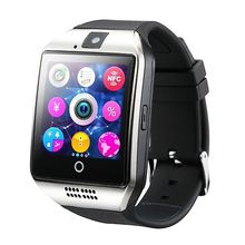 WLNGWEAR Q18 Passometer Smart watch with Touch Screen camera TF card Bluetooth smartwatch for Android IOS Phone