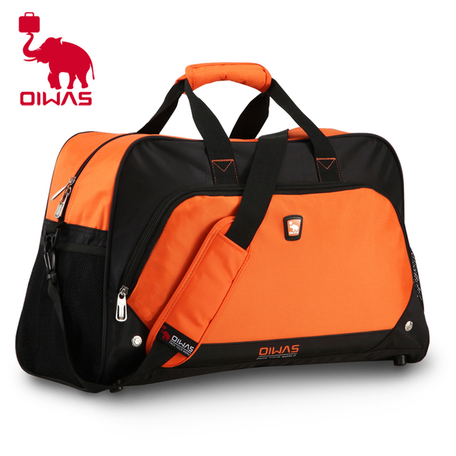 392795325339 Mens Waterproof Brand Travel Bags 2015 Large Sport Bags Women Luggage   Bags  Designer Red Duffel Bag Bolso Deportivo Mujer W134